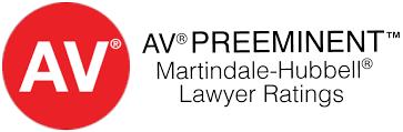 AV Preeminent Martindale-Hubbell Lawyer Ratings - Van DeWater & Van DeWater - Poughkeepsie NY